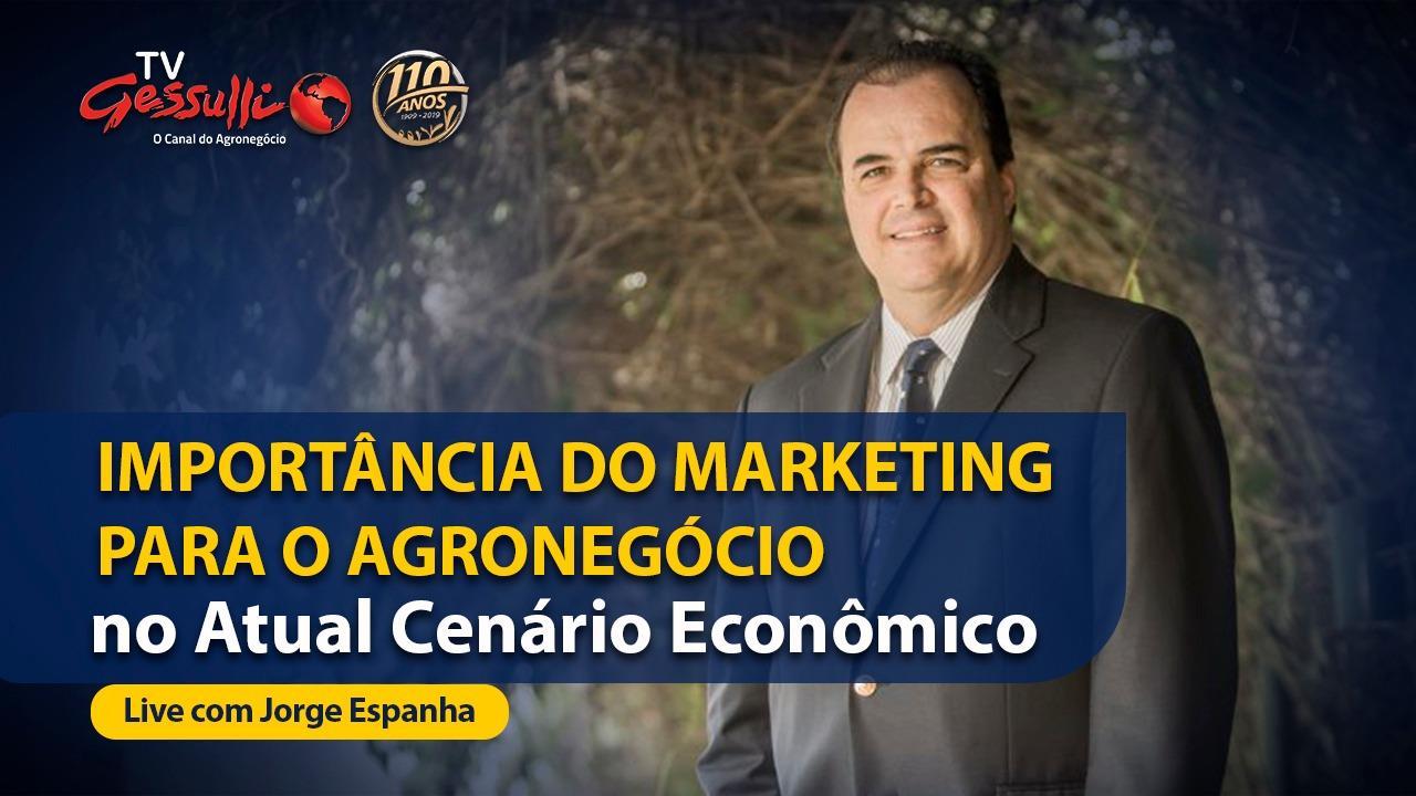 LIVE: Jorge Espanha é entrevistado nas páginas da Gessulli Agribusiness