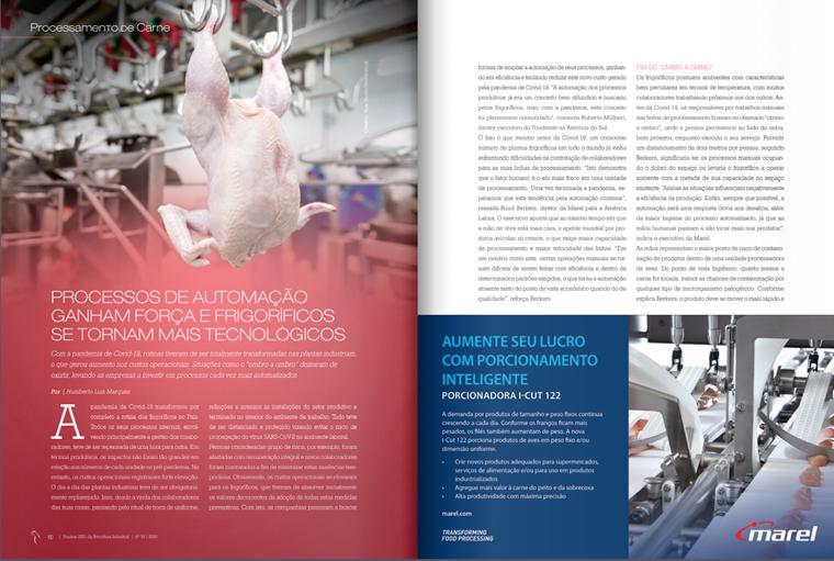 processamento de carne, tecnologias, frigoríficos,