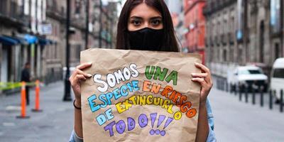 Jovens ativistas pelo clima farão nova mobilização global em 19 de março