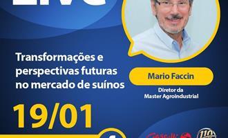 Mario Faccin é entrevistado em live da Gessulli nesta terça-feira