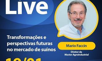 Mario Faccin é entrevistado em live da Gessulli Agribusiness