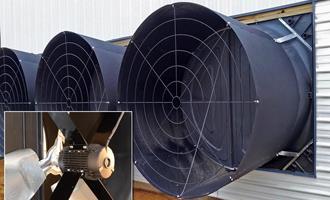 Novos ventiladores Endura® com acionamento direto