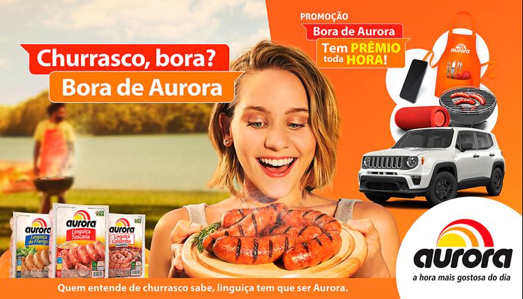 promoção, Aurora, churrasco,
