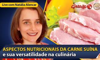 LIVE: Os benefícios e a versatilidade da carne suína