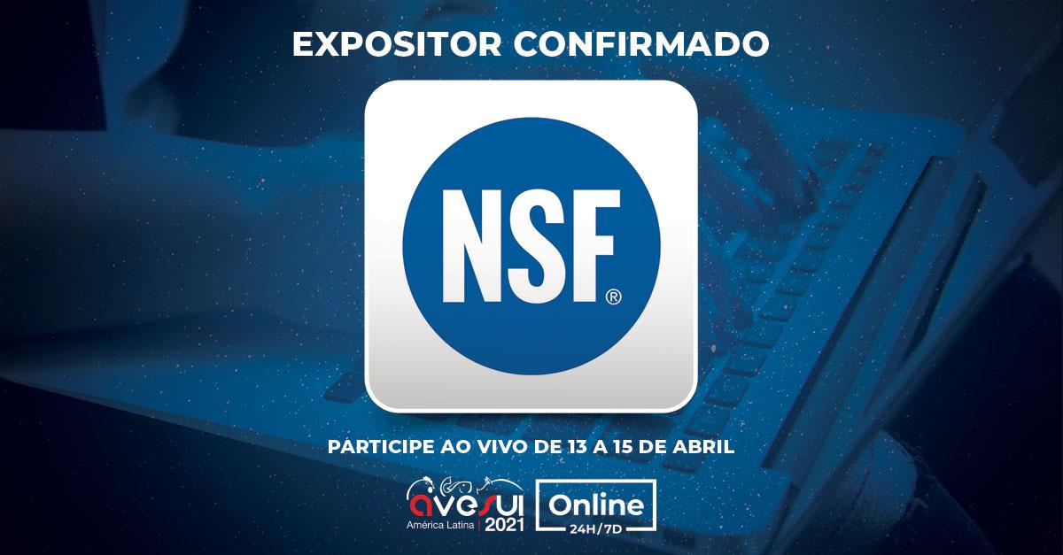 NSF International é presença confirmada na AveSui Online 24H/7D