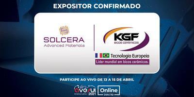 Solcera KGF irá apresentar soluções cerâmicas para o agro e bicos para pulverização e nebulização na AveSui Online 24H/7D