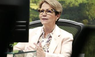"""""""Produtor é protagonista na conservação da água"""", destaca Teresa Cristina"""