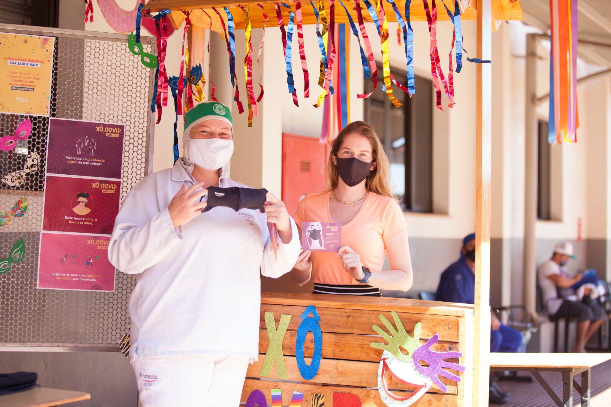 Frimesa promove ações no combate ao Coronavírus, Frimesa promove ações no combate ao Coronavírus