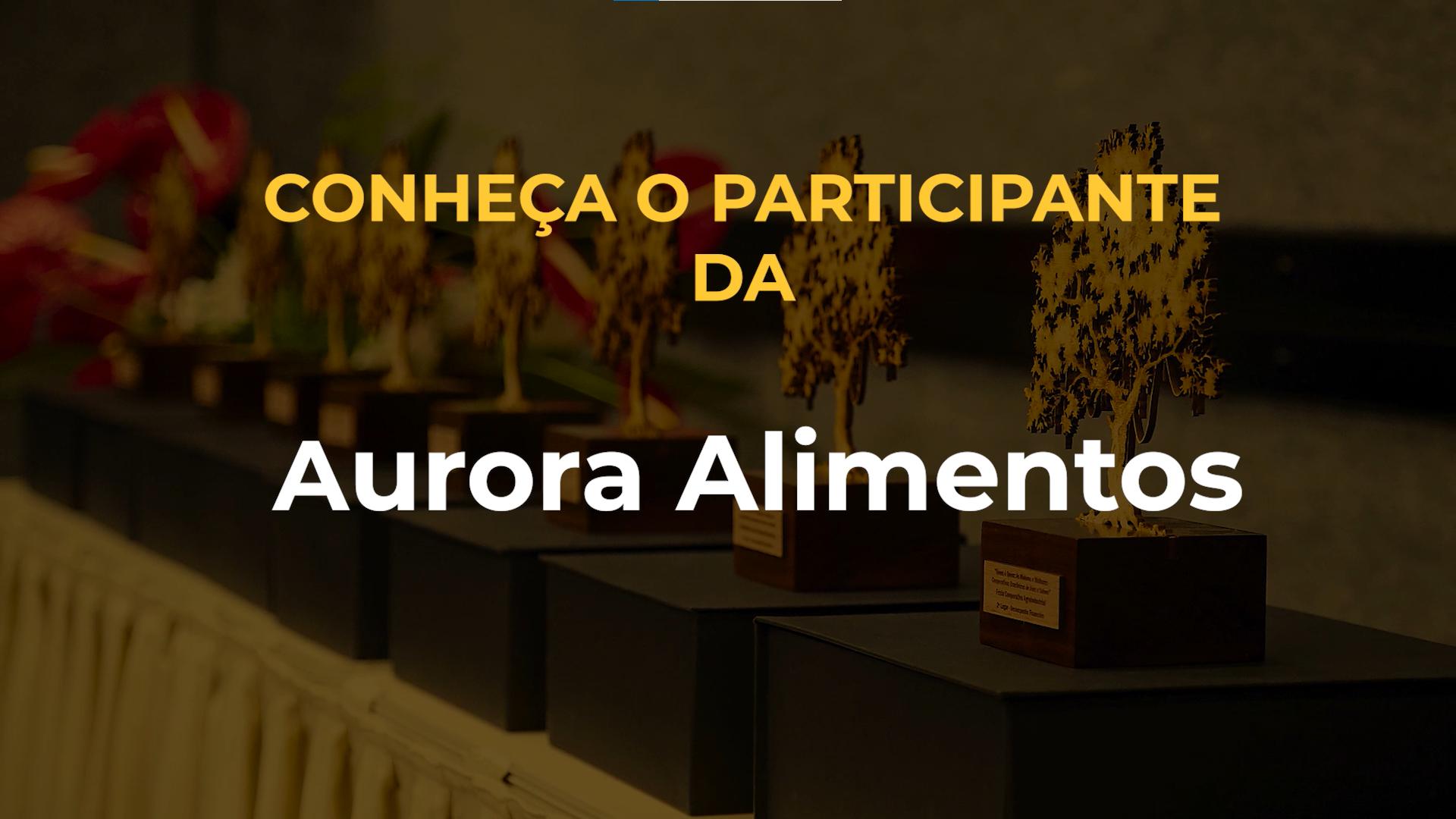 Conheça as seis categorias que a Aurora concorre no Quem é Quem 2021; assista ao vídeo