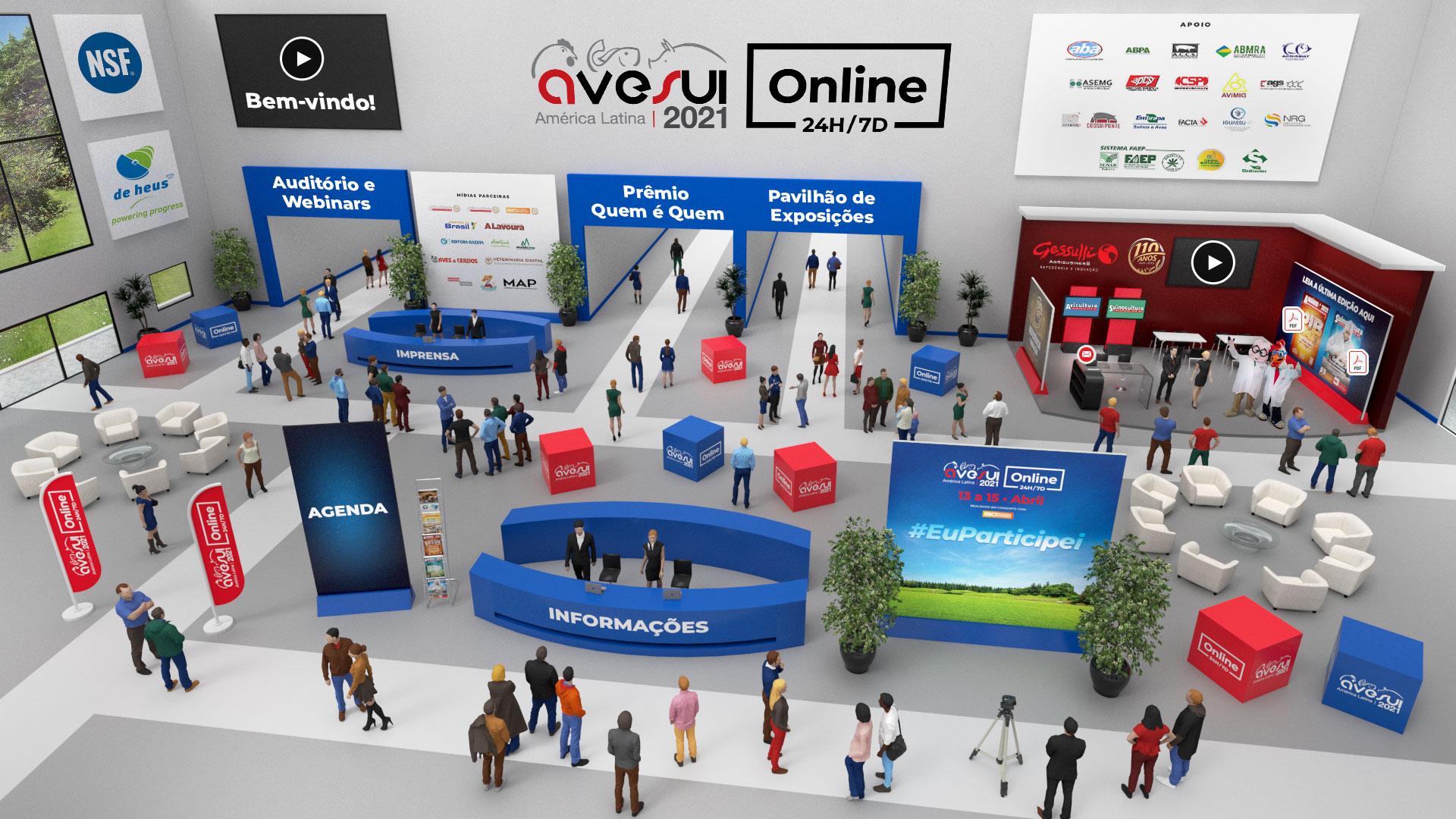 Confira a programação completa da AveSui Online 24h/7d