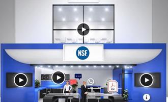 NSF apresenta projetos de saúde pública e programas de certificação na AveSui Online 24h/7d