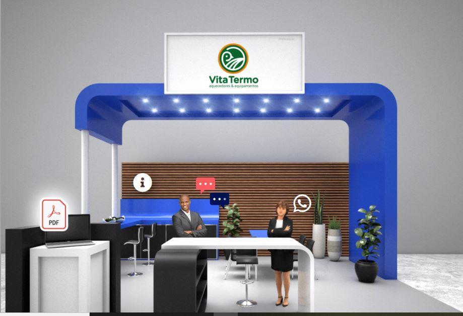 Vita Termo expõe tecnologias em aquecimento automático em seu stand virtual na AveSui