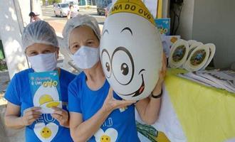 Instituto Ovos Brasil destaca a importância do ovo e promove diversas ações na cidade de Itu-SP