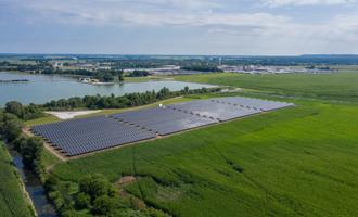 Fábrica de suínos de Illinois movida a energia solar, graças ao financiamento do C-PACE
