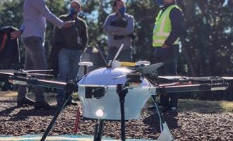 BRF testa drones para entregas em granjas integradas