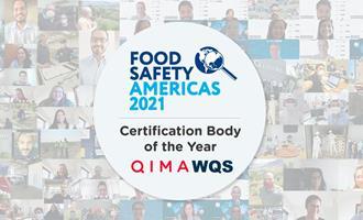 QIMA/WQS nomeada certificadora do ano pela BRCGS