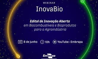 Embrapa Agroenergia lança edital de inovação aberta em biocombustíveis e bioprodutos