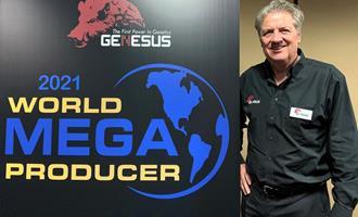 Genesus anuncia a lista World Mega Producer 2021