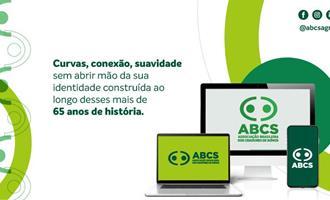 Com traços mais arredondados e modernos, ABCS lança nova logomarca