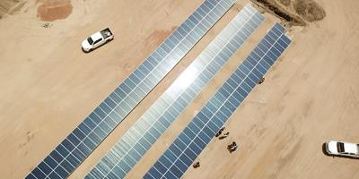Energia solar move sistema de irrigação brasileiro no Sudão