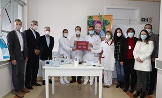 Nos 74 anos da cooperativa, Dália presenteia hospital com mais de R$ 107 mil em equipamentos
