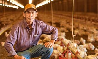 Orgulho de produzir alimentos para o Brasil e o mundo