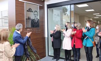 Aurora homenageia memória do ex-presidente Mario Lanznaster