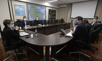 Novas indústrias e biossegurança em MS pautam reunião entre Ministra e Asumas