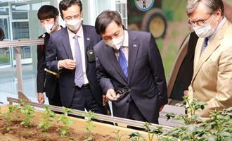 A Coreia e o IICA buscam parcerias para promover uma agricultura baixa em carbono e melhorar a qualidade de vida nas zonas rurais