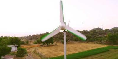 Nova turbina eólica portátil pode revolucionar a geração da energia renovável no mundo