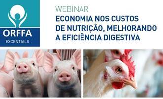 Orffa promove Webinar economia nos custos de nutrição