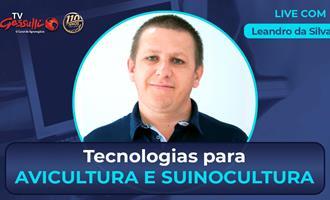 Tecnologia para avicultura e suinocultura é tema de live na TV Gessulli