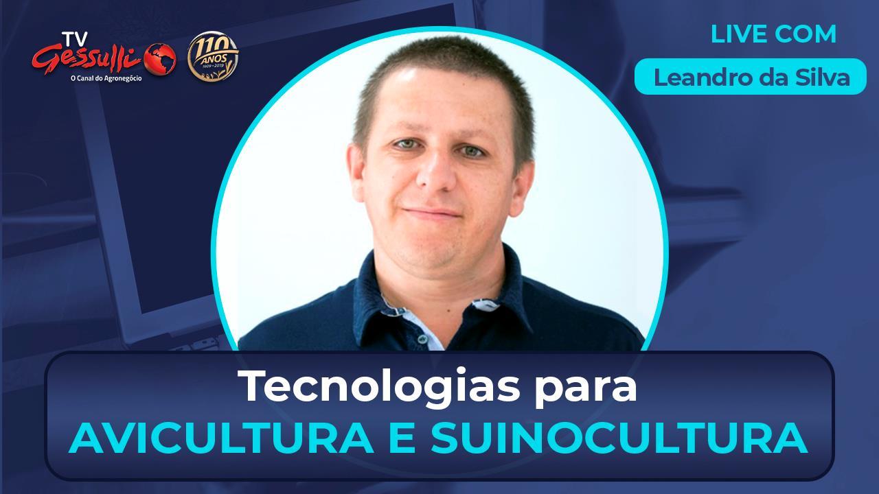 Tecnologia para avicultura e suinocultura com Leandro da Silva, da Inobram