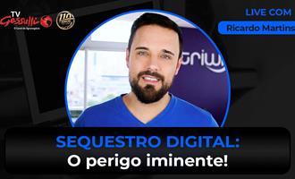 Live sobre Segurança Digital com Ricardo Martins