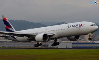 Latam Airlines planeja usar cana-de-açúcar como combustível para os seus aviões para reduzir emissões de carbono