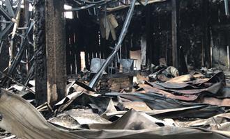 Frimesa esclarece sobre incêndio nas obras de seu frigorífico em Assis Chateaubriand