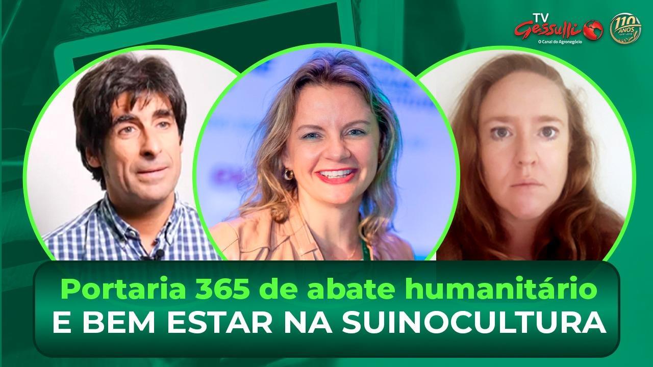 Live hoje sobre a Portaria 365 de abate humanitário