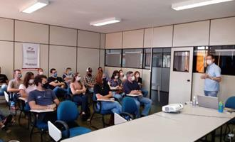 EDA Marília recebe alunos do curso de mestrado profissional em Saúde Animal, Produção e Ambiente, da UNIMAR