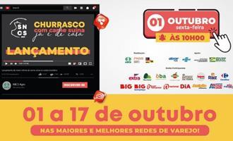 ABCS lança 9ª edição da Semana Nacional da Carne Suína no dia 1° de outubro e insere de vez a carne suína no churrasco dos brasileiros