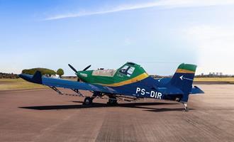 Embraer dobra as vendas de avião agrícola
