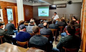 Encontro da Vetanco e Copercampos reúne produtores de suínos no RS para debater sobre biosseguridade