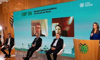 CNA entrega ao governo propostas da agropecuária para COP26