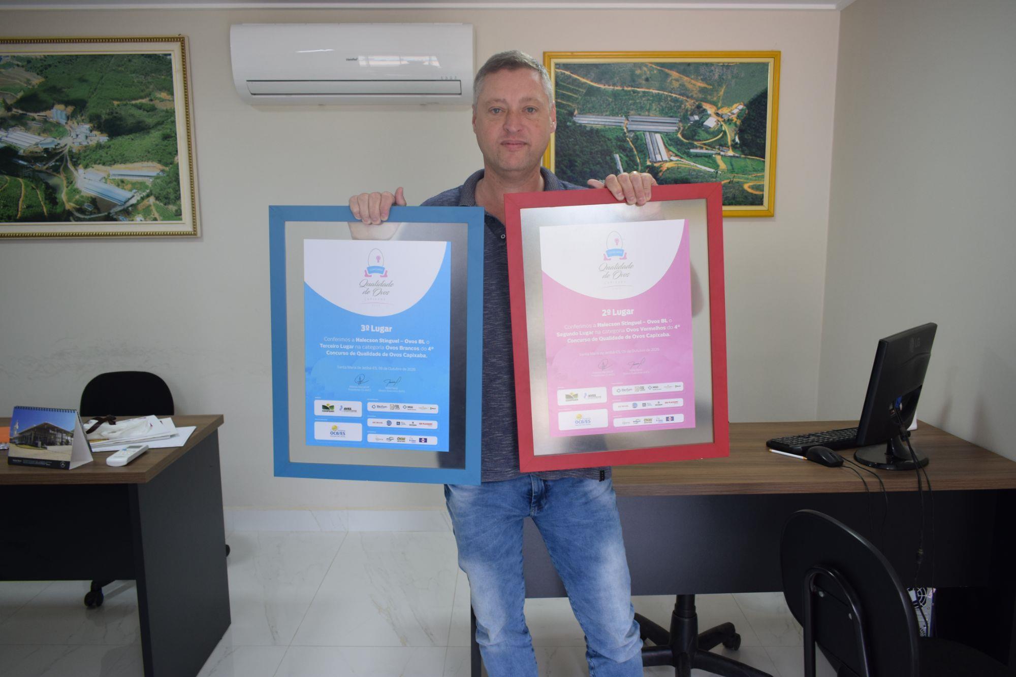 Confira os vencedores do 5º Concurso de Qualidade de Ovos Capixaba, Confira os vencedores do 5º Concurso de Qualidade de Ovos Capixaba