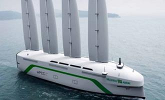 Joint venture formada pela Shell, Equinor e Total encomendam 2 navios transportadores movidos a energia eólica e gás natural a estaleiro chinês