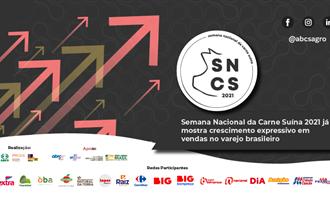 Semana Nacional da Carne Suína 2021 já mostra crescimento expressivo em vendas no varejo brasileiro